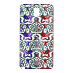 Digital Patterned Ornament Computer Graphic Samsung Galaxy Note 3 N9005 Hardshell Back Case