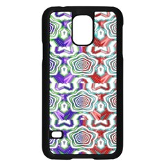 Digital Patterned Ornament Computer Graphic Samsung Galaxy S5 Case (black)