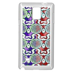 Digital Patterned Ornament Computer Graphic Samsung Galaxy Note 4 Case (white)