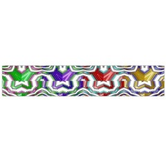 Digital Patterned Ornament Computer Graphic Flano Scarf (Large)