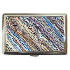 Fractal Waves Background Wallpaper Pattern Cigarette Money Cases
