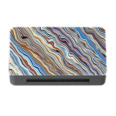 Fractal Waves Background Wallpaper Pattern Memory Card Reader with CF