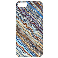 Fractal Waves Background Wallpaper Pattern Apple Iphone 5 Classic Hardshell Case
