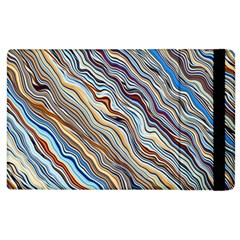 Fractal Waves Background Wallpaper Pattern Apple iPad 3/4 Flip Case
