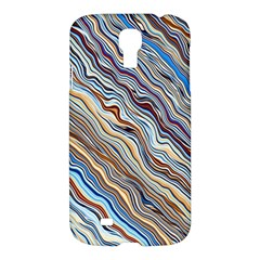 Fractal Waves Background Wallpaper Pattern Samsung Galaxy S4 I9500/I9505 Hardshell Case