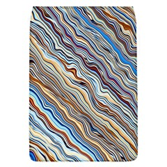 Fractal Waves Background Wallpaper Pattern Flap Covers (l)