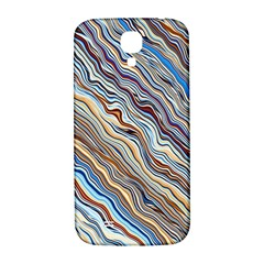 Fractal Waves Background Wallpaper Pattern Samsung Galaxy S4 I9500/I9505  Hardshell Back Case