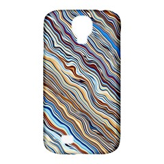 Fractal Waves Background Wallpaper Pattern Samsung Galaxy S4 Classic Hardshell Case (PC+Silicone)
