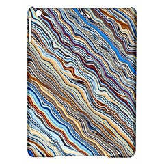 Fractal Waves Background Wallpaper Pattern Ipad Air Hardshell Cases