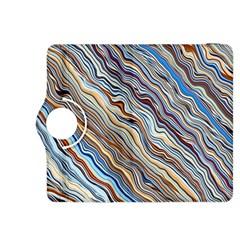 Fractal Waves Background Wallpaper Pattern Kindle Fire HDX 8.9  Flip 360 Case