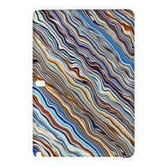 Fractal Waves Background Wallpaper Pattern Samsung Galaxy Tab Pro 10 1 Hardshell Case