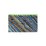 Fractal Waves Background Wallpaper Pattern Cosmetic Bag (XS) Front