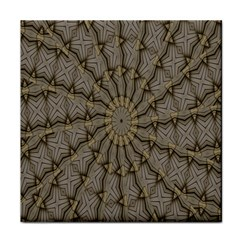 Abstract Image Showing Moiré Pattern Tile Coasters