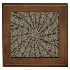 Abstract Image Showing Moiré Pattern Framed Tiles
