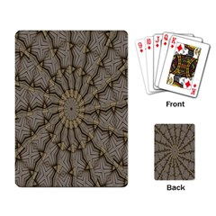 Abstract Image Showing Moiré Pattern Playing Card