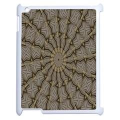 Abstract Image Showing Moir¨| Pattern Apple iPad 2 Case (White)