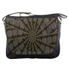 Abstract Image Showing Moiré Pattern Messenger Bags
