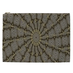 Abstract Image Showing Moiré Pattern Cosmetic Bag (xxl)