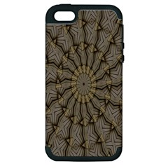 Abstract Image Showing Moir¨| Pattern Apple iPhone 5 Hardshell Case (PC+Silicone)