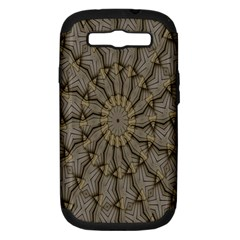 Abstract Image Showing Moiré Pattern Samsung Galaxy S Iii Hardshell Case (pc+silicone)