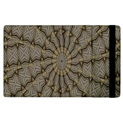Abstract Image Showing Moir¨| Pattern Apple iPad 3/4 Flip Case