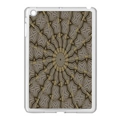 Abstract Image Showing Moiré Pattern Apple iPad Mini Case (White)
