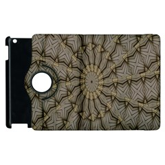 Abstract Image Showing Moiré Pattern Apple iPad 2 Flip 360 Case