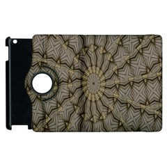 Abstract Image Showing Moir¨| Pattern Apple iPad 3/4 Flip 360 Case