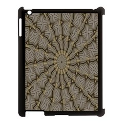 Abstract Image Showing Moiré Pattern Apple Ipad 3/4 Case (black)