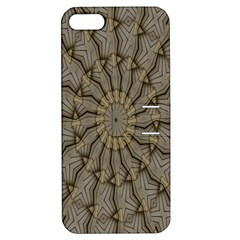 Abstract Image Showing Moiré Pattern Apple iPhone 5 Hardshell Case with Stand