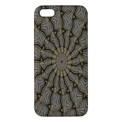 Abstract Image Showing Moir¨| Pattern Apple iPhone 5 Premium Hardshell Case