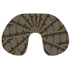 Abstract Image Showing Moir¨| Pattern Travel Neck Pillows