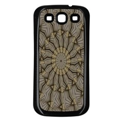 Abstract Image Showing Moir¨| Pattern Samsung Galaxy S3 Back Case (Black)