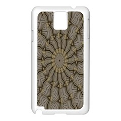 Abstract Image Showing Moiré Pattern Samsung Galaxy Note 3 N9005 Case (White)