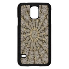 Abstract Image Showing Moiré Pattern Samsung Galaxy S5 Case (Black)