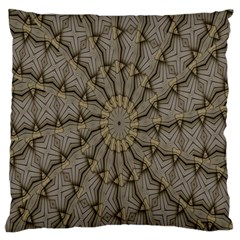 Abstract Image Showing Moiré Pattern Large Flano Cushion Case (Two Sides)