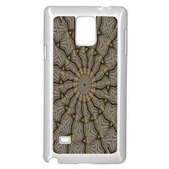 Abstract Image Showing Moiré Pattern Samsung Galaxy Note 4 Case (white)