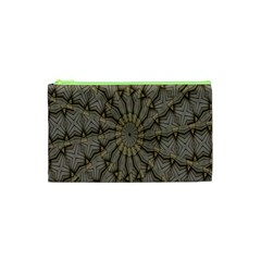 Abstract Image Showing Moiré Pattern Cosmetic Bag (xs)