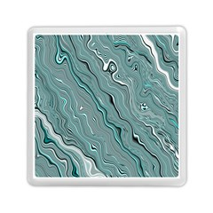 Fractal Waves Background Wallpaper Memory Card Reader (square)