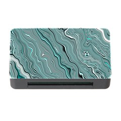 Fractal Waves Background Wallpaper Memory Card Reader With Cf