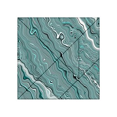Fractal Waves Background Wallpaper Acrylic Tangram Puzzle (4  x 4 )