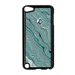 Fractal Waves Background Wallpaper Apple Ipod Touch 5 Case (black)