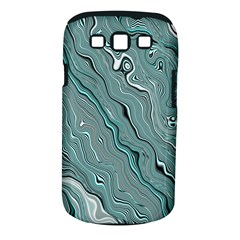 Fractal Waves Background Wallpaper Samsung Galaxy S III Classic Hardshell Case (PC+Silicone)