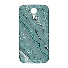 Fractal Waves Background Wallpaper Samsung Galaxy S4 I9500/I9505  Hardshell Back Case