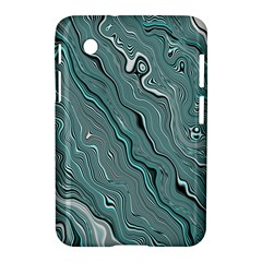 Fractal Waves Background Wallpaper Samsung Galaxy Tab 2 (7 ) P3100 Hardshell Case