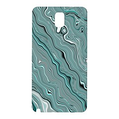 Fractal Waves Background Wallpaper Samsung Galaxy Note 3 N9005 Hardshell Back Case