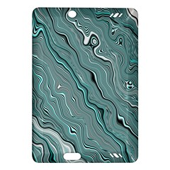 Fractal Waves Background Wallpaper Amazon Kindle Fire HD (2013) Hardshell Case
