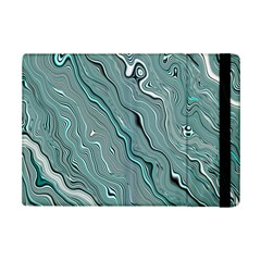 Fractal Waves Background Wallpaper iPad Mini 2 Flip Cases