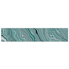 Fractal Waves Background Wallpaper Flano Scarf (Small)