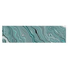 Fractal Waves Background Wallpaper Satin Scarf (oblong)
